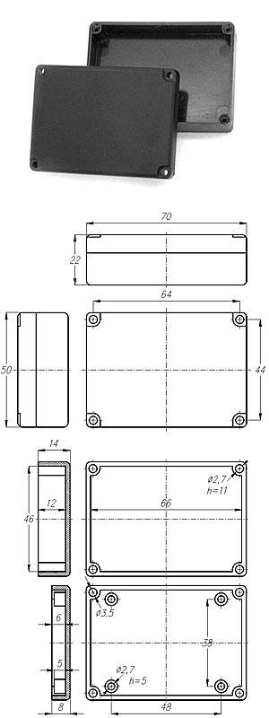 Корпуса для РЭА из ABS-пластика